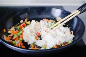 Омлет с рисом по-японски - фото шаг 4