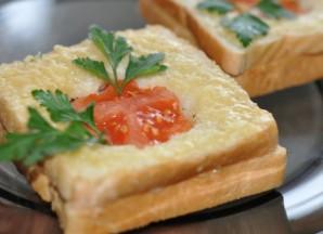 Горячие бутерброды с сыром - фото шаг 5