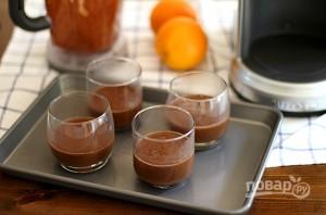 Шоколадный мусс с апельсином - фото шаг 3