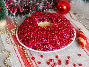 """Салат """"Гранатовый браслет"""" с черносливом и грецким орехом - фото шаг 10"""