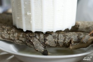 Домашний сыр из молока и уксуса - фото шаг 7