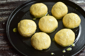 Пампушки с сыром - фото шаг 9