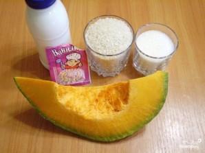 Рисовая каша с тыквой в мультиварке - фото шаг 1