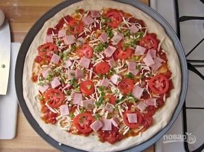 Пицца к завтраку - фото шаг 5