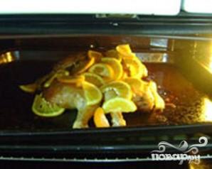 Курица с розмарином, чесноком и апельсинами - фото шаг 4
