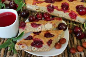 Пирог с вишней и орехами - фото шаг 7