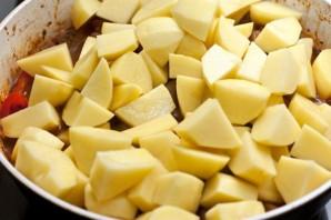 Жареная баранина с картошкой   - фото шаг 6