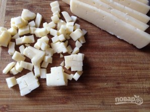 Грибные маффины с сыром и зеленью - фото шаг 3