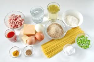 Колобки из спагетти - фото шаг 1