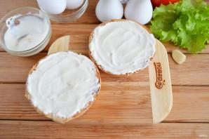 Бутерброд с яйцом (мастер класс) - фото шаг 4