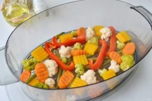 "Овощи на пару ""Вкусные"" - фото шаг 5"