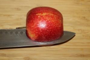 Лебедь из яблока - фото шаг 3