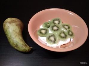 Десерт из творога и фруктов - фото шаг 4