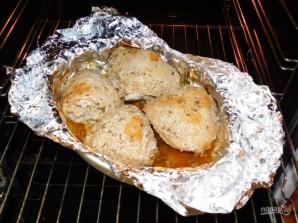 Куриные бедра в соево-горчичном маринаде - фото шаг 5
