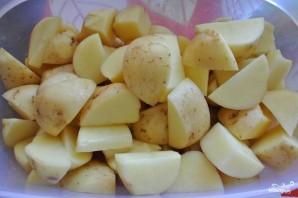 Жаркое со свининой и картошкой - фото шаг 1