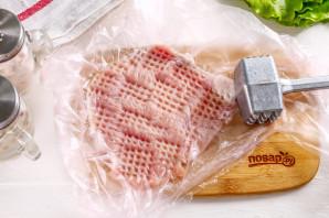 Отбивные с горчицей и майонезом в духовке - фото шаг 3