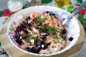 Салат из свеклы и квашеной капусты - фото шаг 9