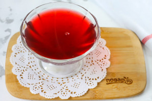 Желе из вишневого сока - фото шаг 4