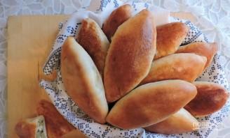 Пирожки с капустой из дрожжевого теста - фото шаг 5