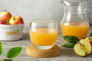 Яблочный сок - фото шаг 7