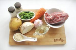Мясные котлеты с овощами - фото шаг 1