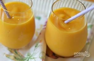 Персиково-манговый смузи - фото шаг 3