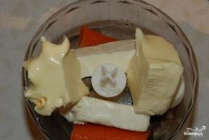 Форшмак с плавленым сыром и морковью - фото шаг 2