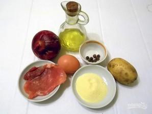 Картофельно-мясные котлеты - фото шаг 1