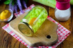 Компот из кабачков как ананасы - фото шаг 9