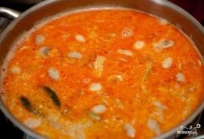 """Суп """"Том ям"""" с креветками - фото шаг 4"""