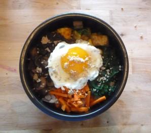 Салат с корейской морковкой и курицей - фото шаг 3