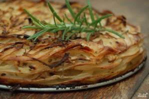 Слоеный пирог с картошкой - фото шаг 4