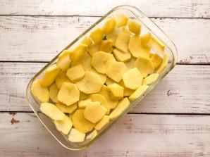 Картофельный киш с ветчиной и сыром - фото шаг 6