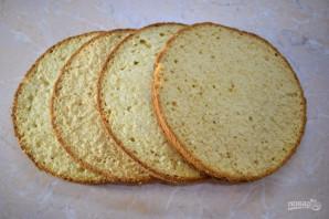 Банановый торт со сметанным кремом - фото шаг 4