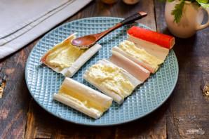 Крабовые палочки с творожным сыром - фото шаг 5