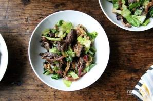 Салат с мясом и овощами - фото шаг 5