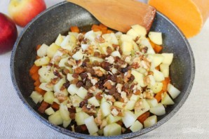 Пряный пудинг из тыквы и яблок - фото шаг 10