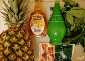 Десерт из свежего ананаса - фото шаг 1