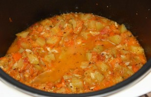 Овощное рагу из кабачков - фото шаг 4
