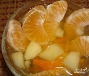 Компот из мандаринов и яблок - фото шаг 4