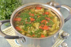 Суп с нутом и брокколи - фото шаг 9