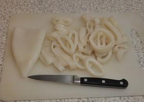 Макароны с кальмарами - фото шаг 4