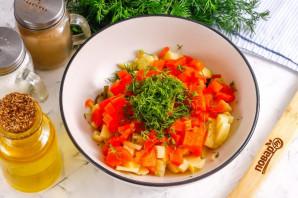 Вкусный салат из морской капусты - фото шаг 6