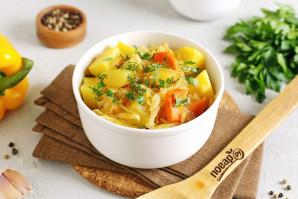 Овощное рагу с картошкой - фото шаг 10