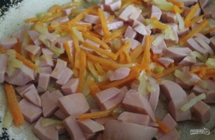 Суп на скорую руку с сосисками - фото шаг 4