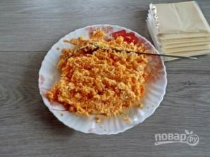 Закусочные сырные трубочки - фото шаг 2