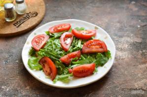 Салат из абрикосов с помидорами - фото шаг 3