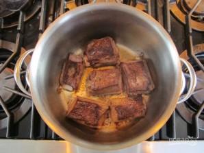 Ячменный суп с рёбрышками - фото шаг 2