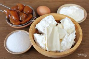 Творожное печенье с фруктами - фото шаг 1