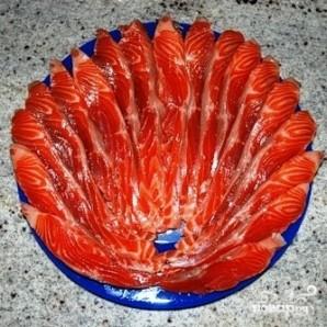 Соленая красная рыба - фото шаг 17